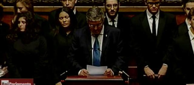 Giorno del Ricordo 2016: Intervento al Senato del Presidente della FederEsuli