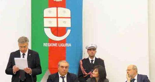 Febbraio 2018 – Giorno del Ricordo – Intervento di Antonio Ballarin al Consiglio Regionale della Regione Liguria