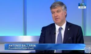 Antonio Ballarin, Presidente della FederEsuli, intervistato da Clara Iatosti.