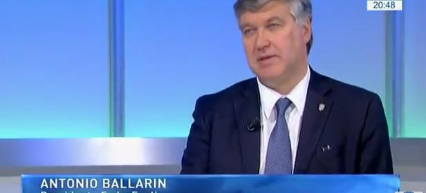 TGtg-Telegiornali a confronto del 10.02.2017 – Antonio Ballarin, Presidente della FederEsuli, intervistato da Clara Iatosti