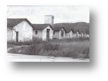1955 – Baracche del C.R.P. di Laterina