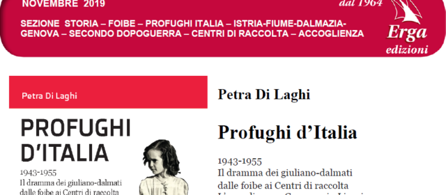 """Pubblicazione del libro """"Profughi d'Italia. 1943-1955"""""""
