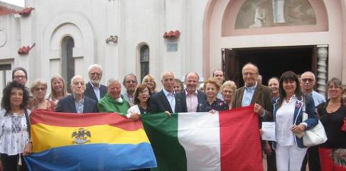 A Montevideo, con l'Ambasciatore  d'Italia Giovanni Battista Iannuzzi