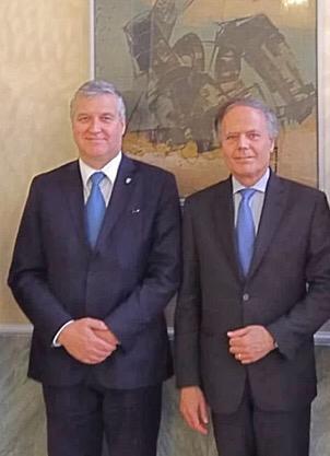 FederEsuli a colloquio con il Ministro Enzo Moavero Milanesi