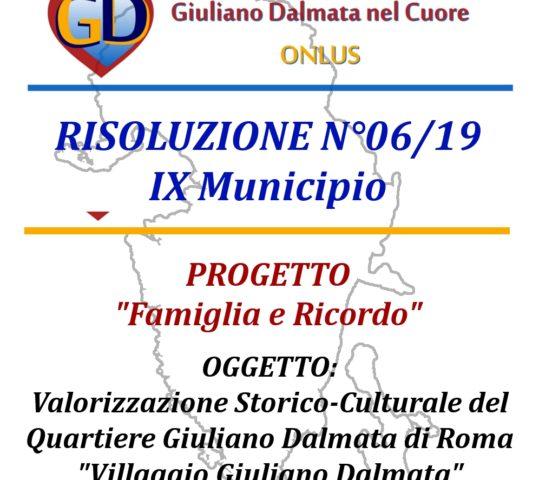 """Progetto """"FAMIGLIA E RICORDO"""" – Associazione Giuliano Dalmata nel Cuore ONLUS"""